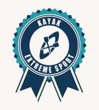 Kayak design Royalty Free Stock Images