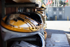 Kayak display Royalty Free Stock Image