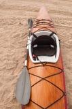 kayak en bois Images stock