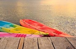 Kayak en rivière photos libres de droits