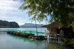 Kayak fahren in krabi 3 Stockbilder