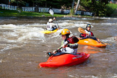 Kayak freestyle Royalty Free Stock Photos