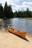 Kayak jaune photos stock