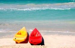 Kayak jumeau Photo stock