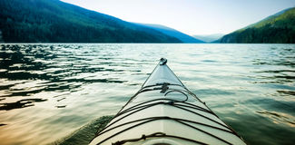 Kayak on lake Royalty Free Stock Photography