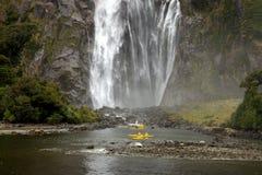 kayak Milford Sound Стоковая Фотография RF