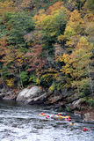 Kayak - ohiopyle, PA Image libre de droits