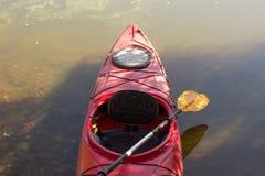 Kayak in open water. Stock Images