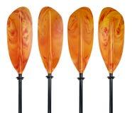 Kayak paddle blades Stock Image