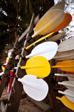 Kayak Paddle Stock Photography