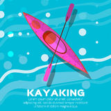 Kayak Stock Photo