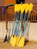 Kayak Paddles Stock Photos