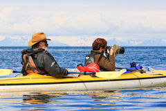 Kayak Photography Alaska Stock Photos