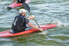 Kayak polo Stock Photo