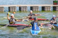 Kayak polo Stock Images