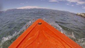 Kayak POV Adventure stock video