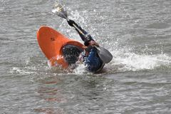 Kayak practice 4 Royalty Free Stock Photos