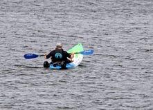Kayak race Royalty Free Stock Photography