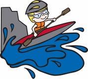 Kayak Raft Royalty Free Stock Images