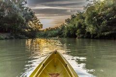 Kayak route royalty free stock photos