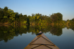 Kayak Scenery Royalty Free Stock Image