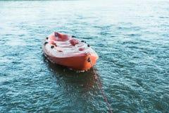 A kayak on the sea. stock image