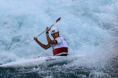 Kayak Slalom at London 2012 Stock Photography