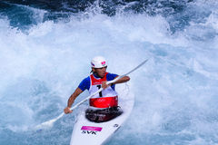 Kayak Slalom at London 2012 Stock Image