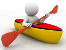 Kayak sporting Royalty Free Stock Photo