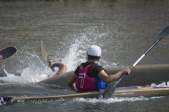 Kayak sports Royalty Free Stock Image