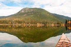 Kayak sul lago Murtle Immagini Stock Libere da Diritti