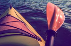 Kayak Summer Trip Stock Images