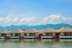 Kayak sur le lac Image libre de droits
