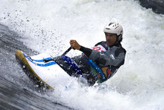 Kayak surf Stock Photography