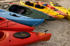 Kayak Ties Stock Image
