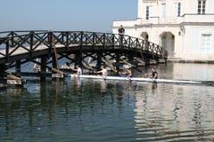 Kayak training Stock Photography