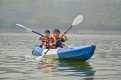 Kayak Training Stock Images