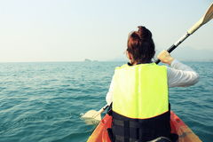 Kayak trip Royalty Free Stock Photography