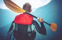 Kayak Trip Ready Stock Image