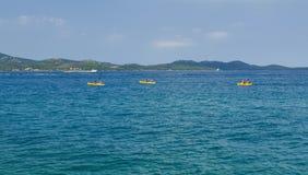 The kayak triping royalty free stock photography