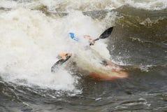 kayaker фристайла Стоковое Изображение RF