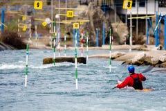 kayaker Obrazy Stock