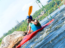 Kayaker Royalty Free Stock Image