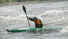 Kayaker Royalty Free Stock Photography