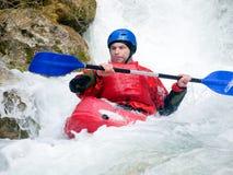 kayaker Zdjęcia Stock