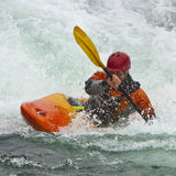 Kayaker stock foto