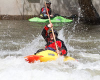 Kayaker Stock Image