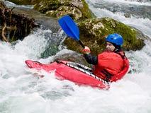 kayaker Στοκ Φωτογραφίες