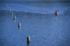 Kayaker 2 Obrazy Royalty Free
