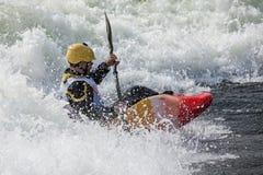 Kayaker Zdjęcie Stock